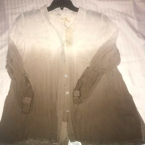 Mystree blouse NWT large